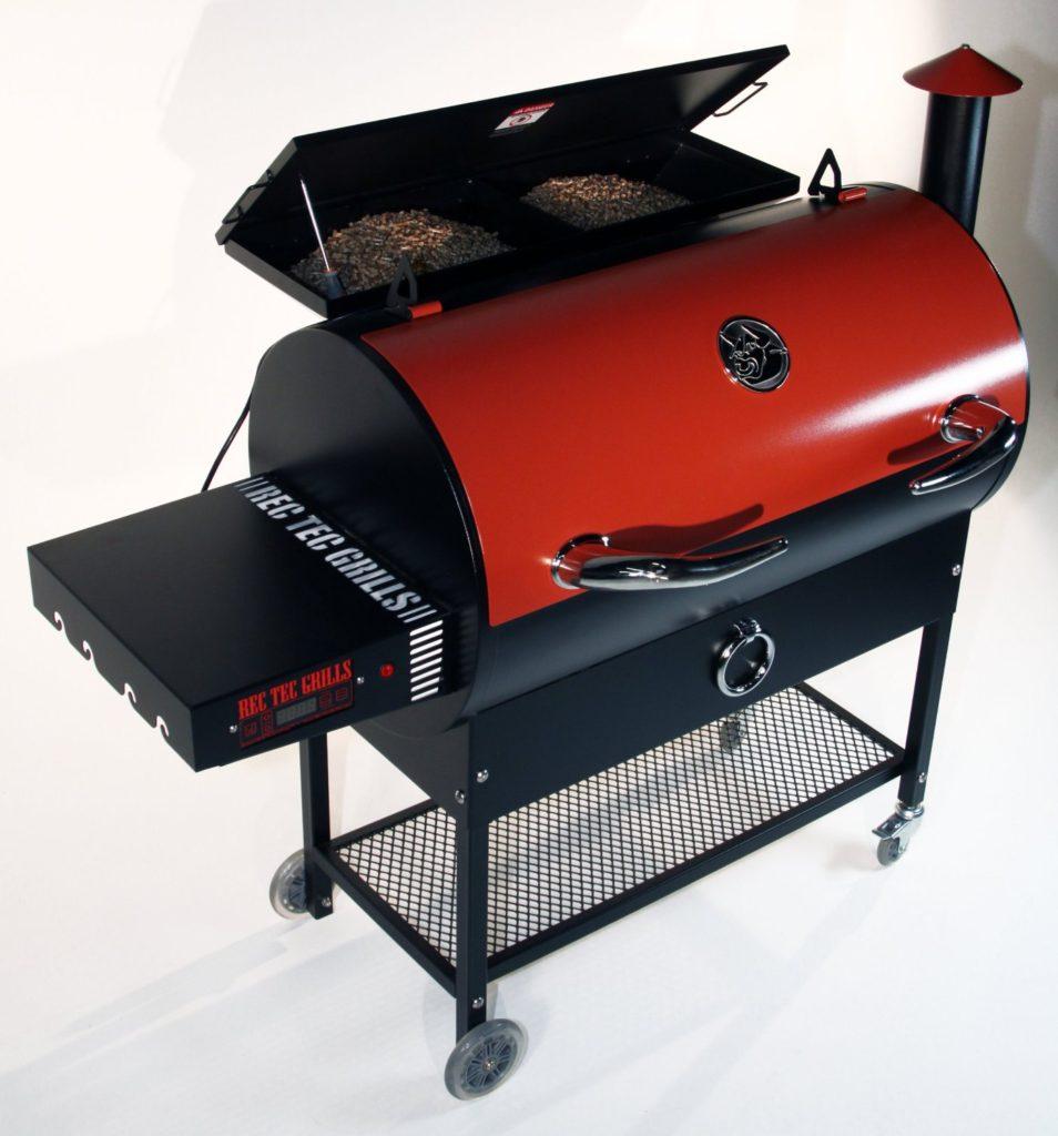 REC TEC pellet grill