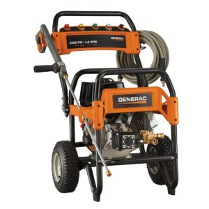 generac 6565 gas powered pressure washer