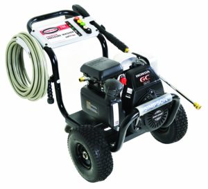 simpson cleaning msh3125s gas pressure washer