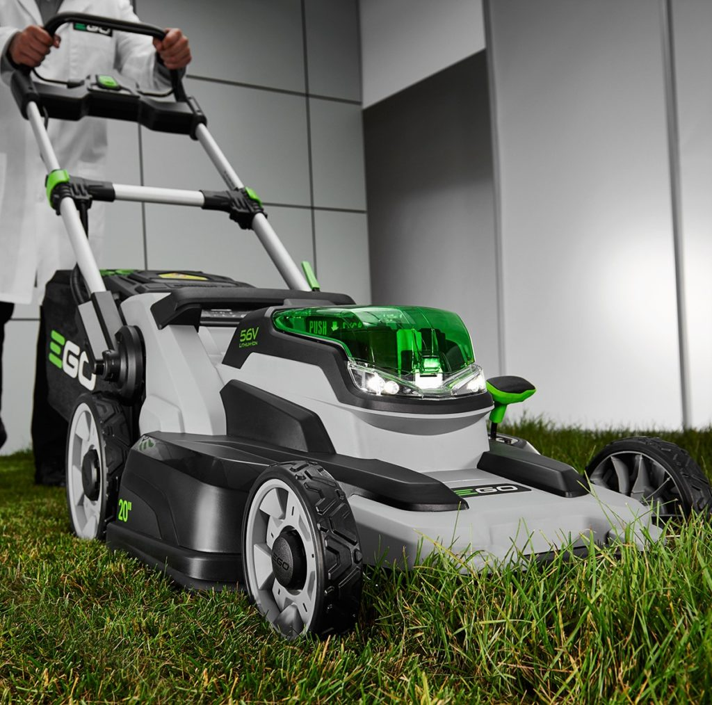 "EGO Power+ 20"" cordless lawn mower"