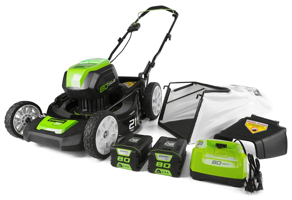 Greenworks Pro 80v cordless lawn mower