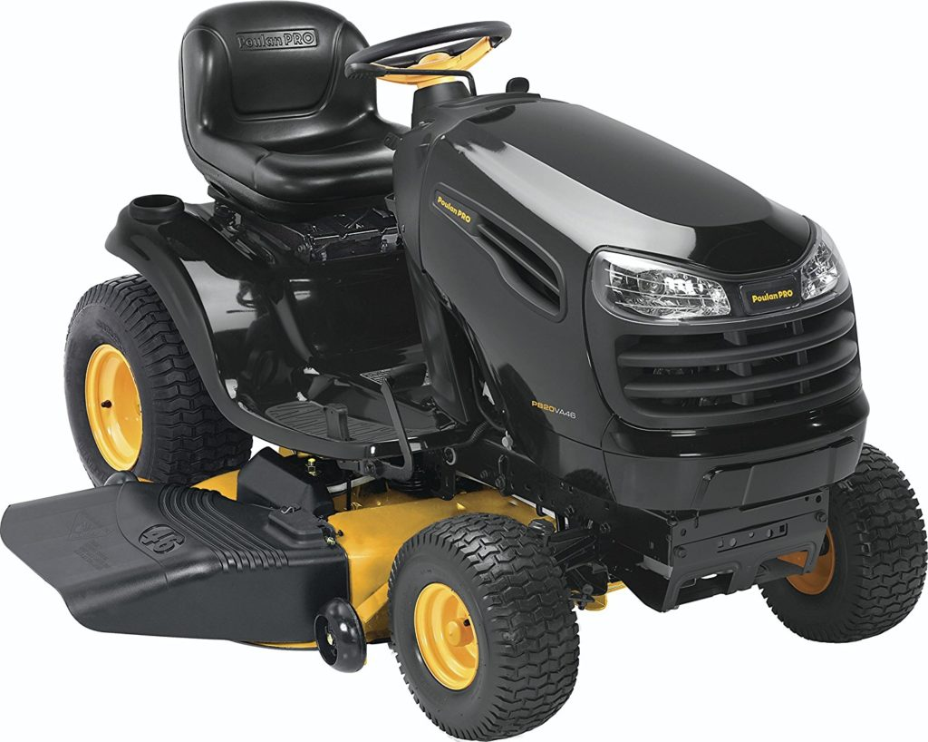 Poulan Pro PP20VA46 riding lawn mower