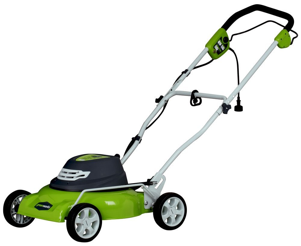 Greenworks 25012 electric corded mower