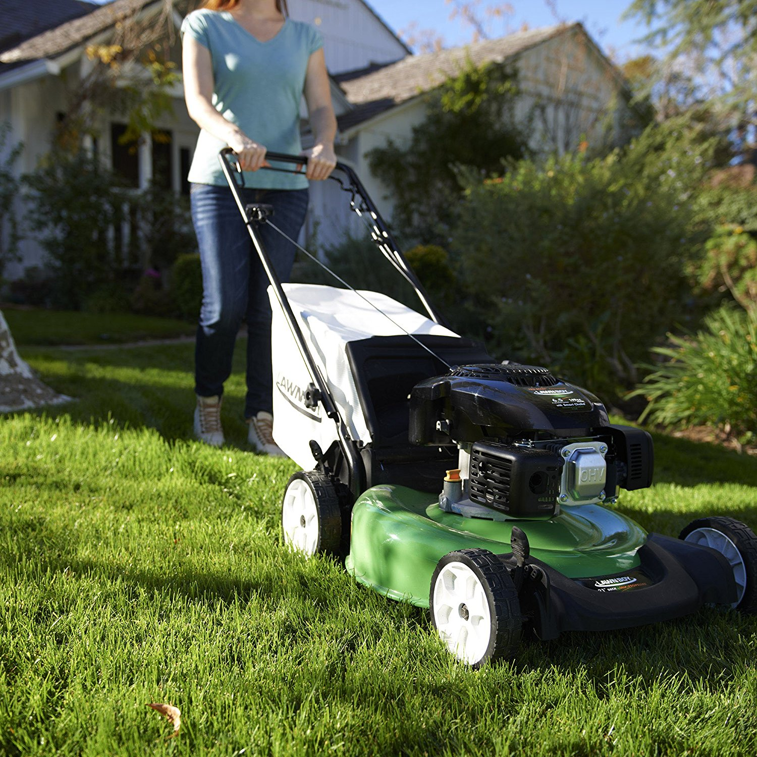 Gas Mowers Best Push Amp Self Propelled Gas Lawn Mowers 2019