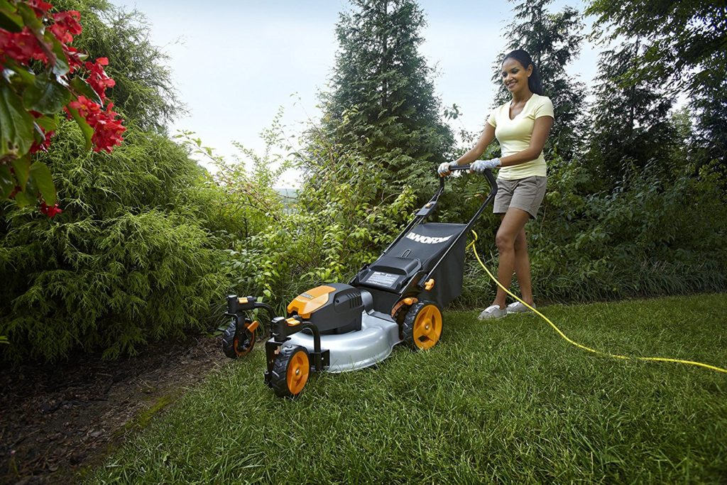 WORX WG719 electric corded mower review